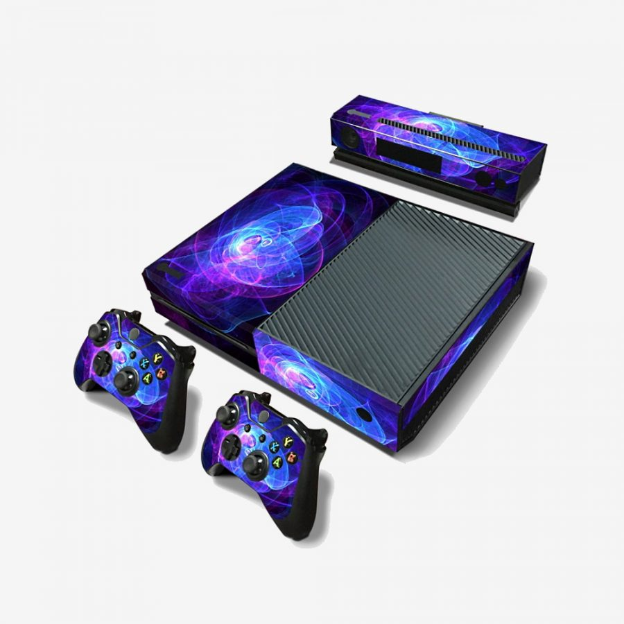 Blue-Spaces-Xbox-One-Skin-1
