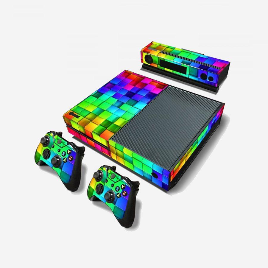 Disco-Xbox-One-Skin-1