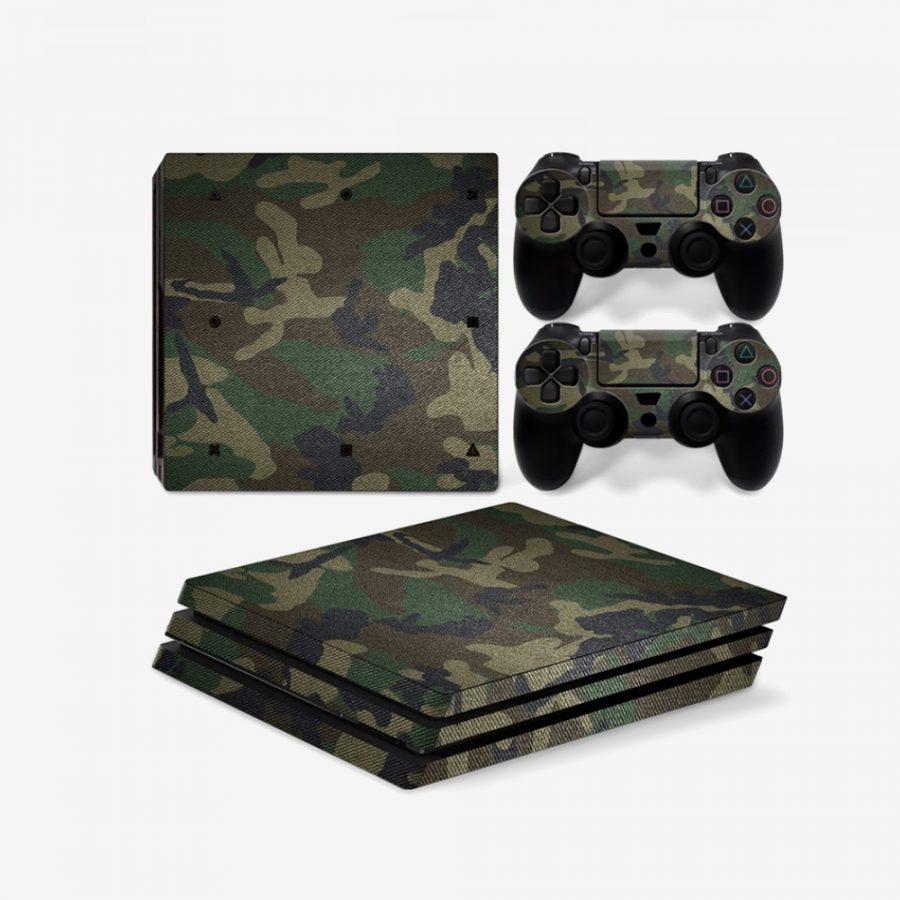 Green-Camo-PS4-Pro-Skin-1