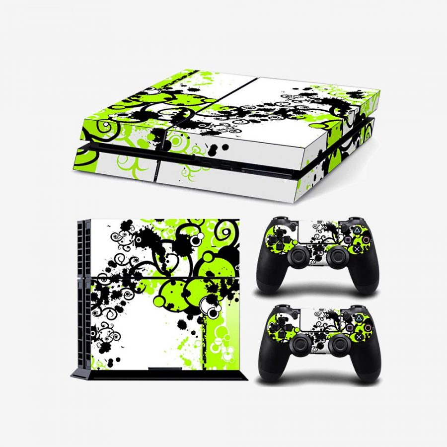Green-Paint-PS4-Skin-1