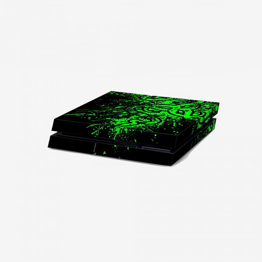 Green-Splash-PS4-Skin-2
