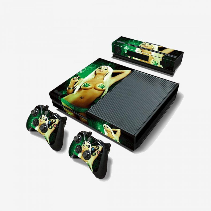 Smoking-Girl-Xbox-One-Skin-1