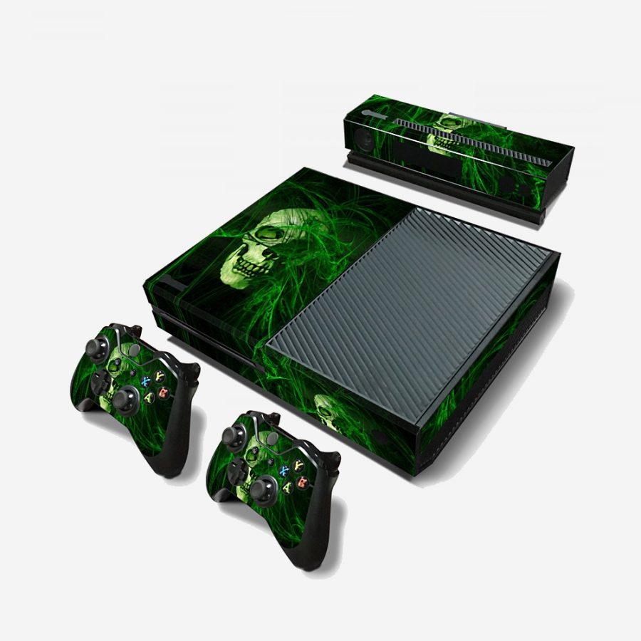 Green-Skull-Xbox-One-Skin-1