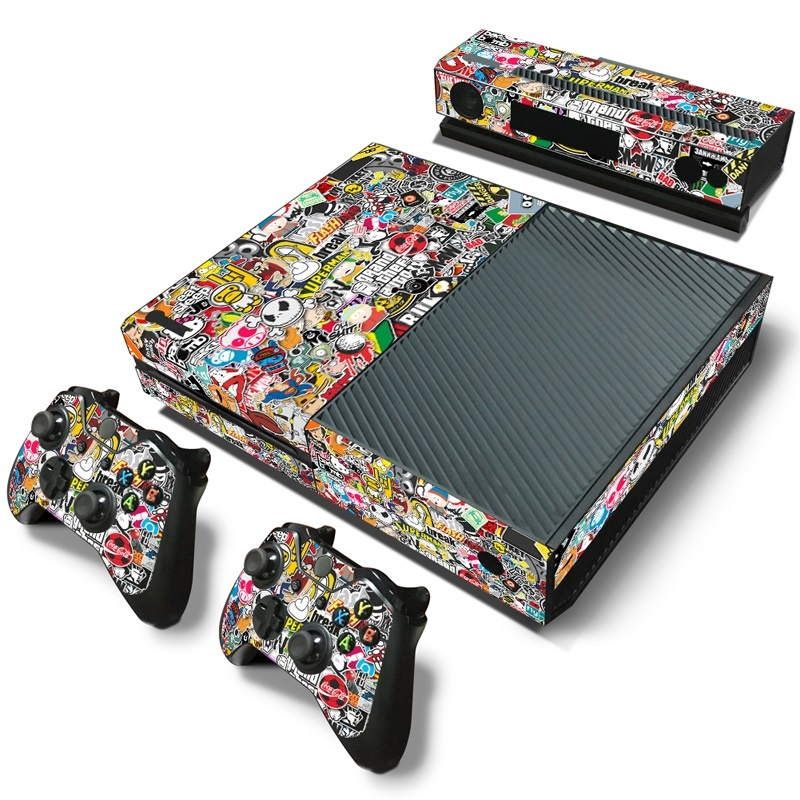 Xbox one Stickerbomb