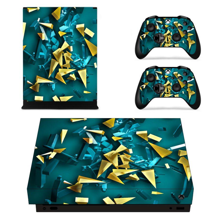 Shattered Glass Xbox One X sticker