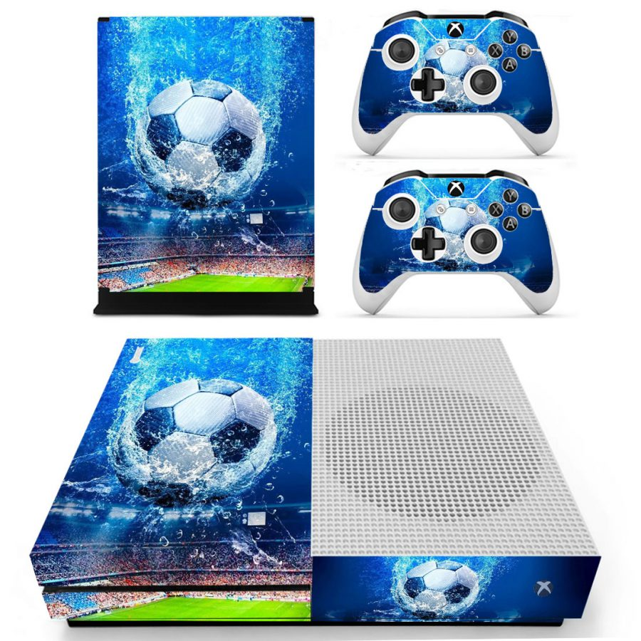 Blue Soccer XBox One S skin