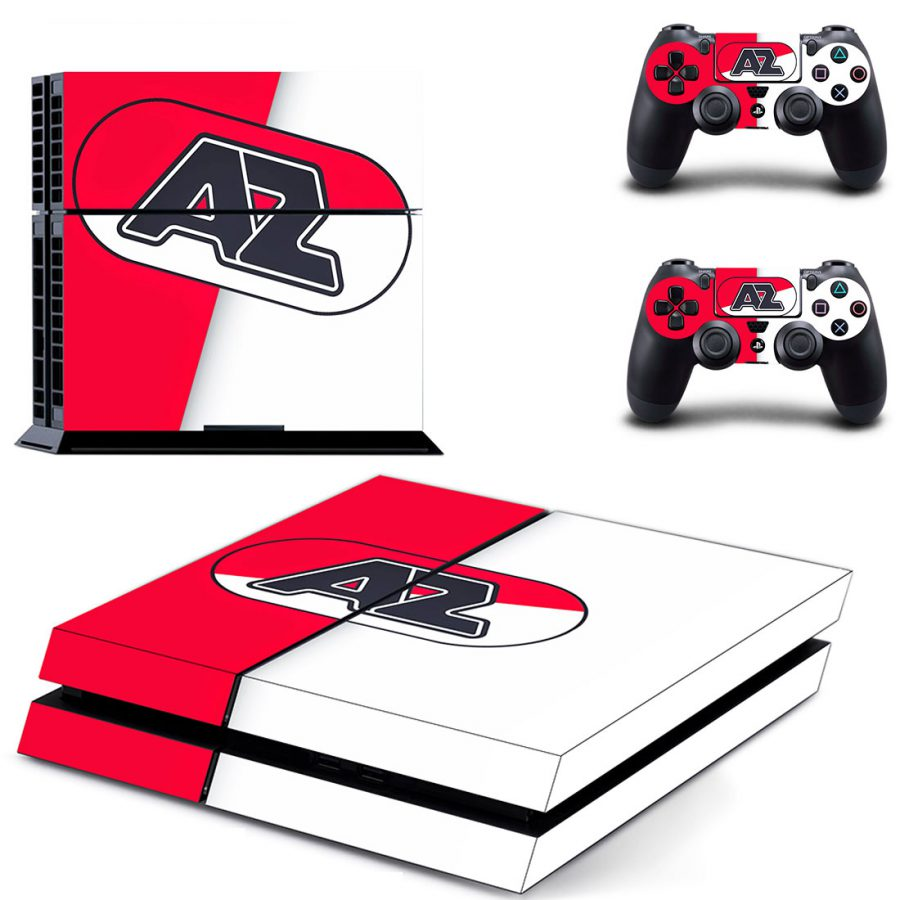 AZ Alkmaar PS4 Skin Sticker