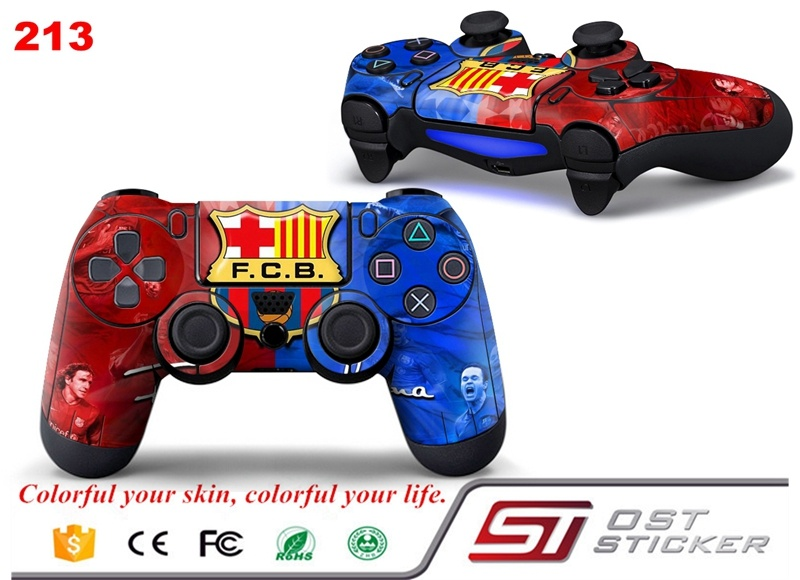 Barcelona PS4 Controller Skin Sticker