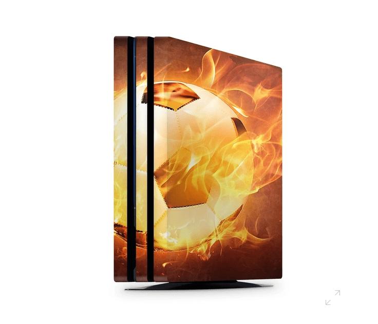 Fireball Soccer PS4 Pro skin