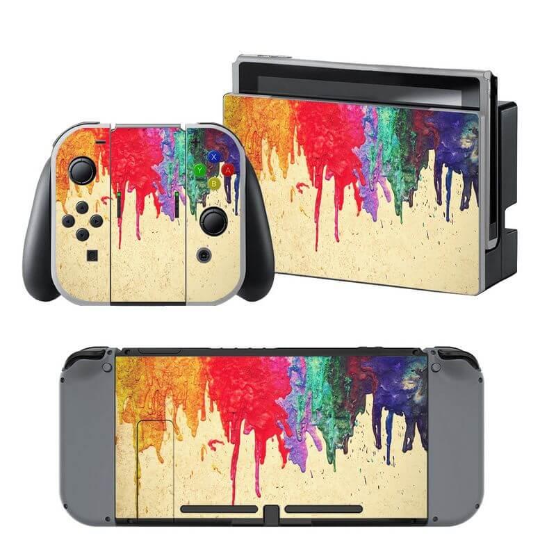Nintendo Switch Paint skin