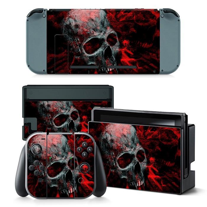 Nintendo Switch Skull skin