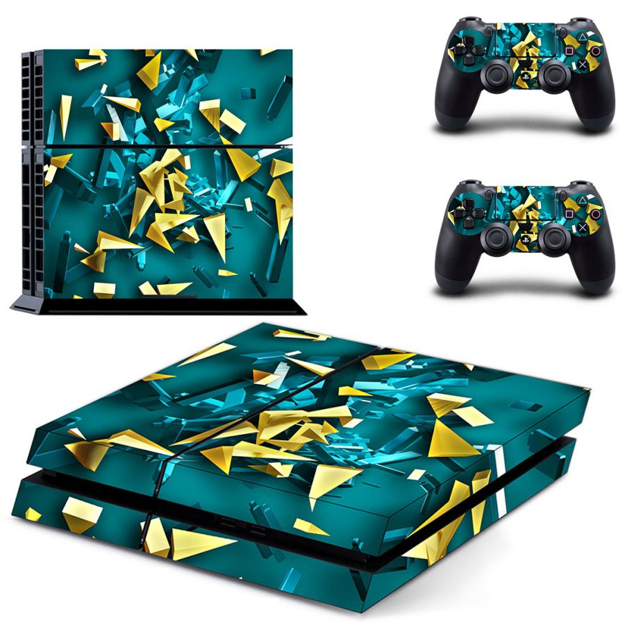 Shattered Glass PS4 Skin