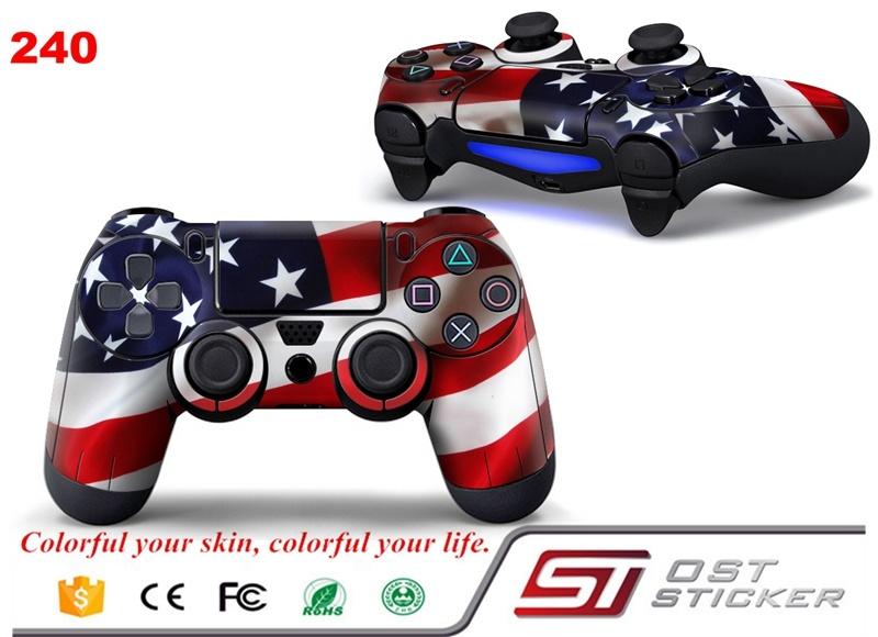 Stars Stripes PS4 Controller Skin Sticker