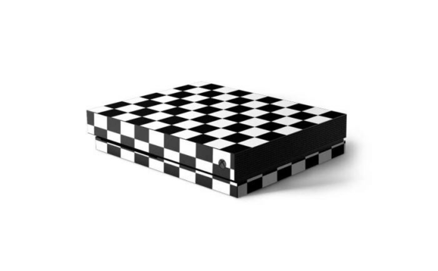 White Chess - Xbox One X Skin