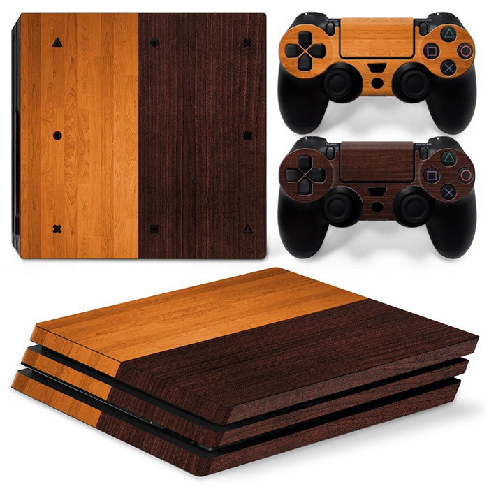 Wood Colors PS4 Pro skin