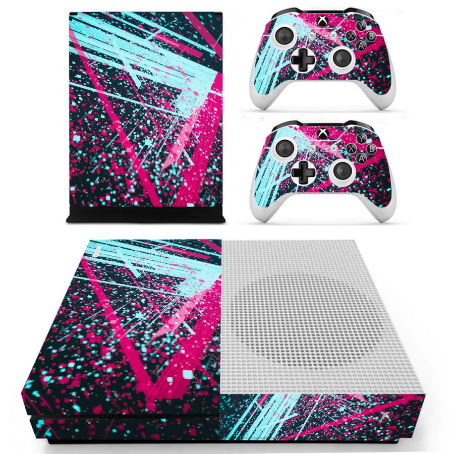 Colored Space Xbox One S skin