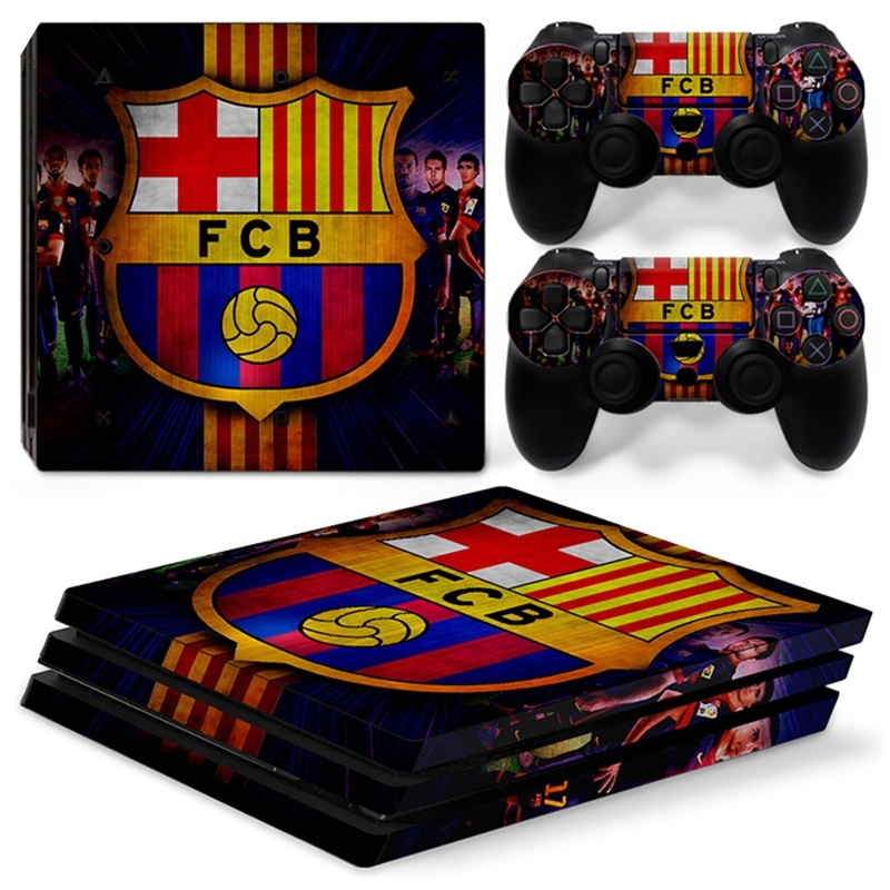Barcelona PS4 stickers