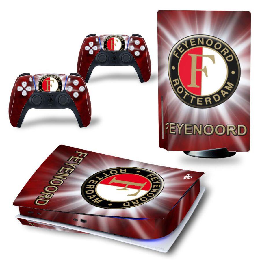 PS5 sticker Feyenoord Rotterdam
