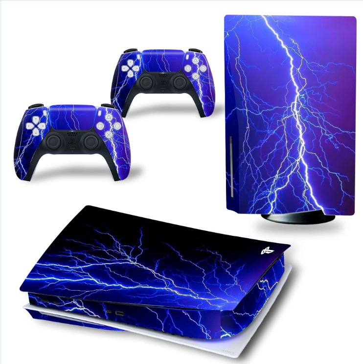 Playstation 5 sticker Thunder