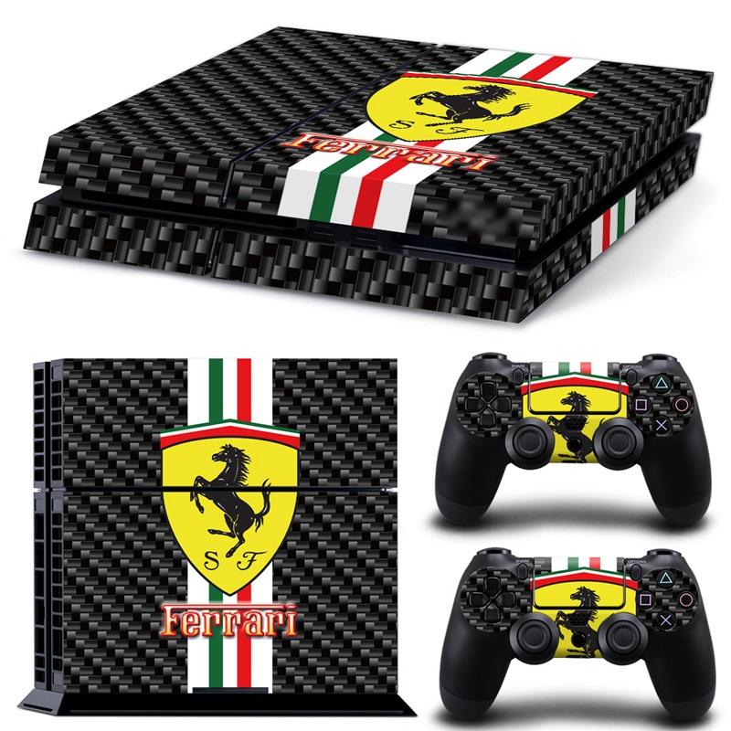 PS4 Ferrari skin