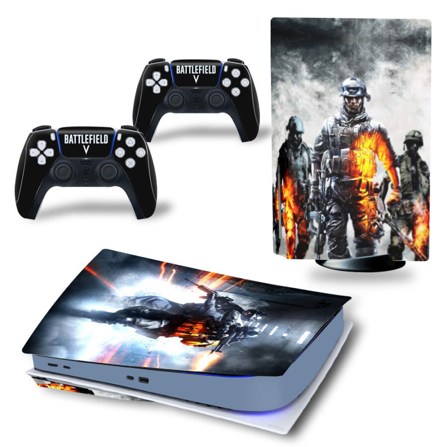 Battlefield PS5 sticker