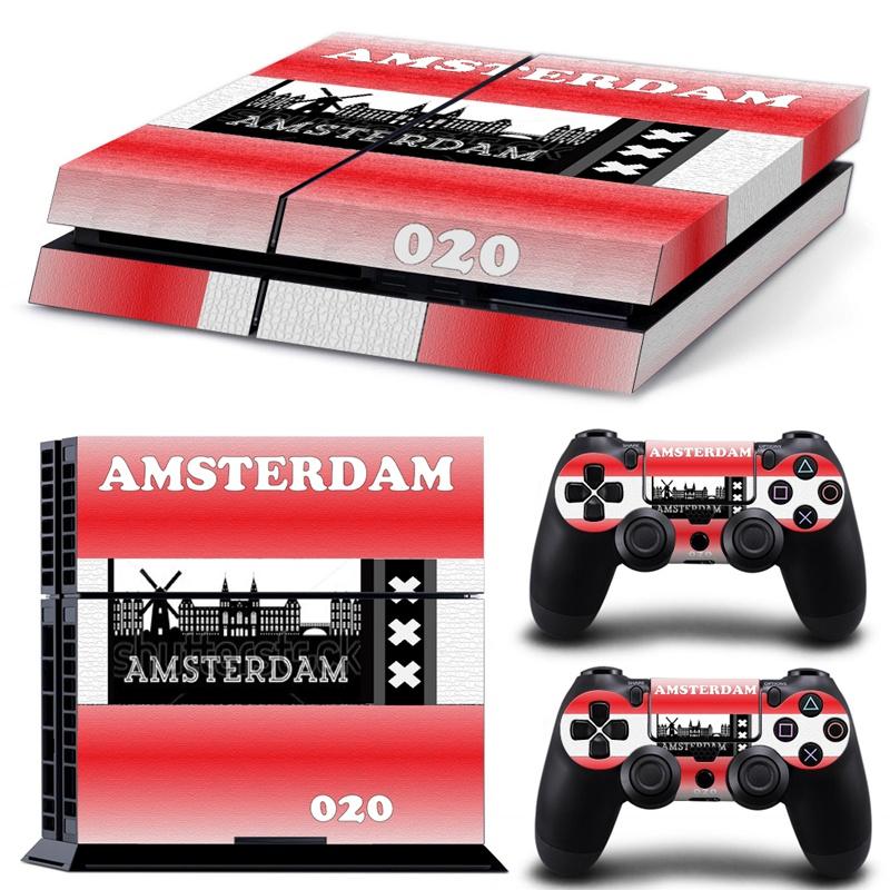 PS4 sticker Amsterdam