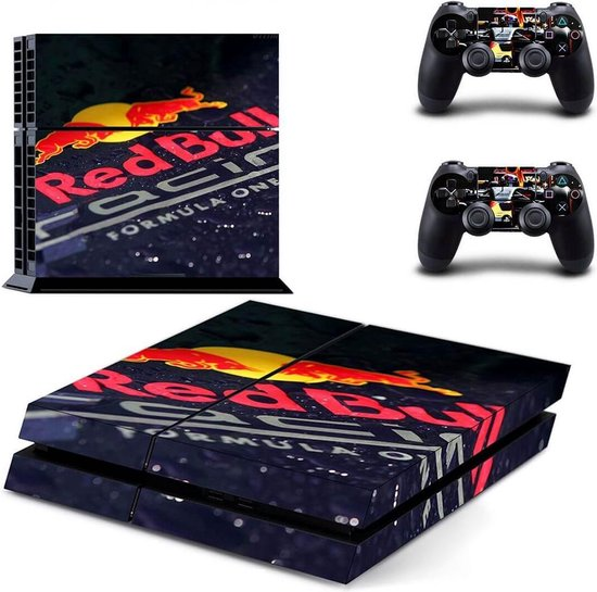 Red Bull racing PS4 stickers
