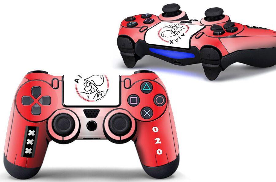 Ajax PS4 controller sticker