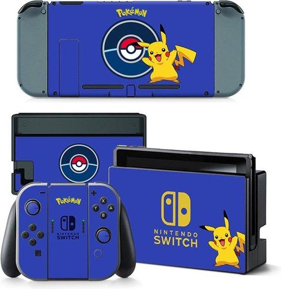 Pikachu switch skin