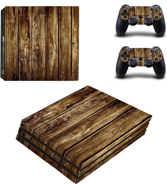Wood V5 Ps4 Pro skin