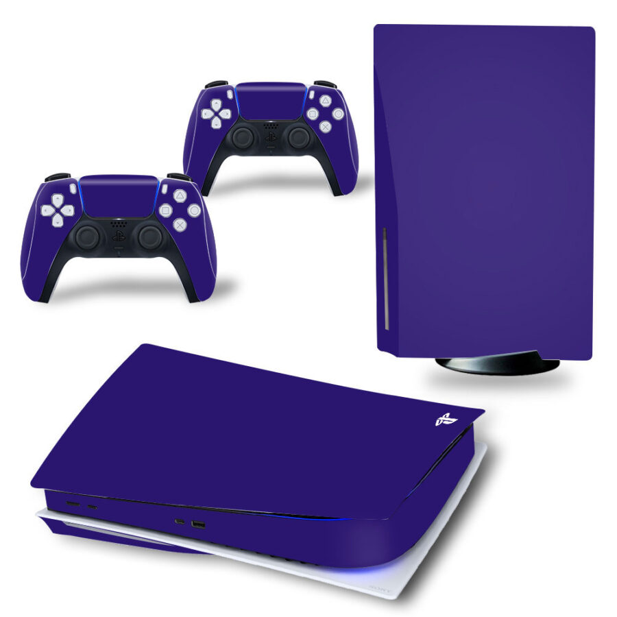 Ps5 skin Dark Blue